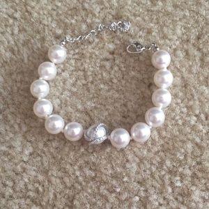 Swarovski Faux Pearl Bracelet
